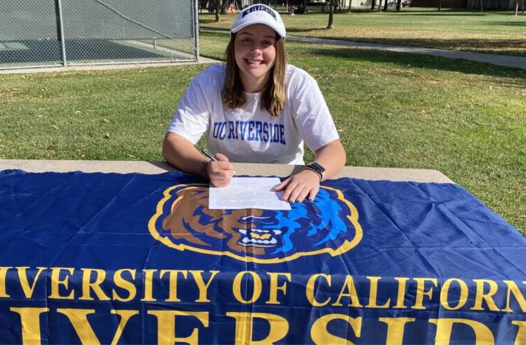 Maddie Heinlin - UC Riverside