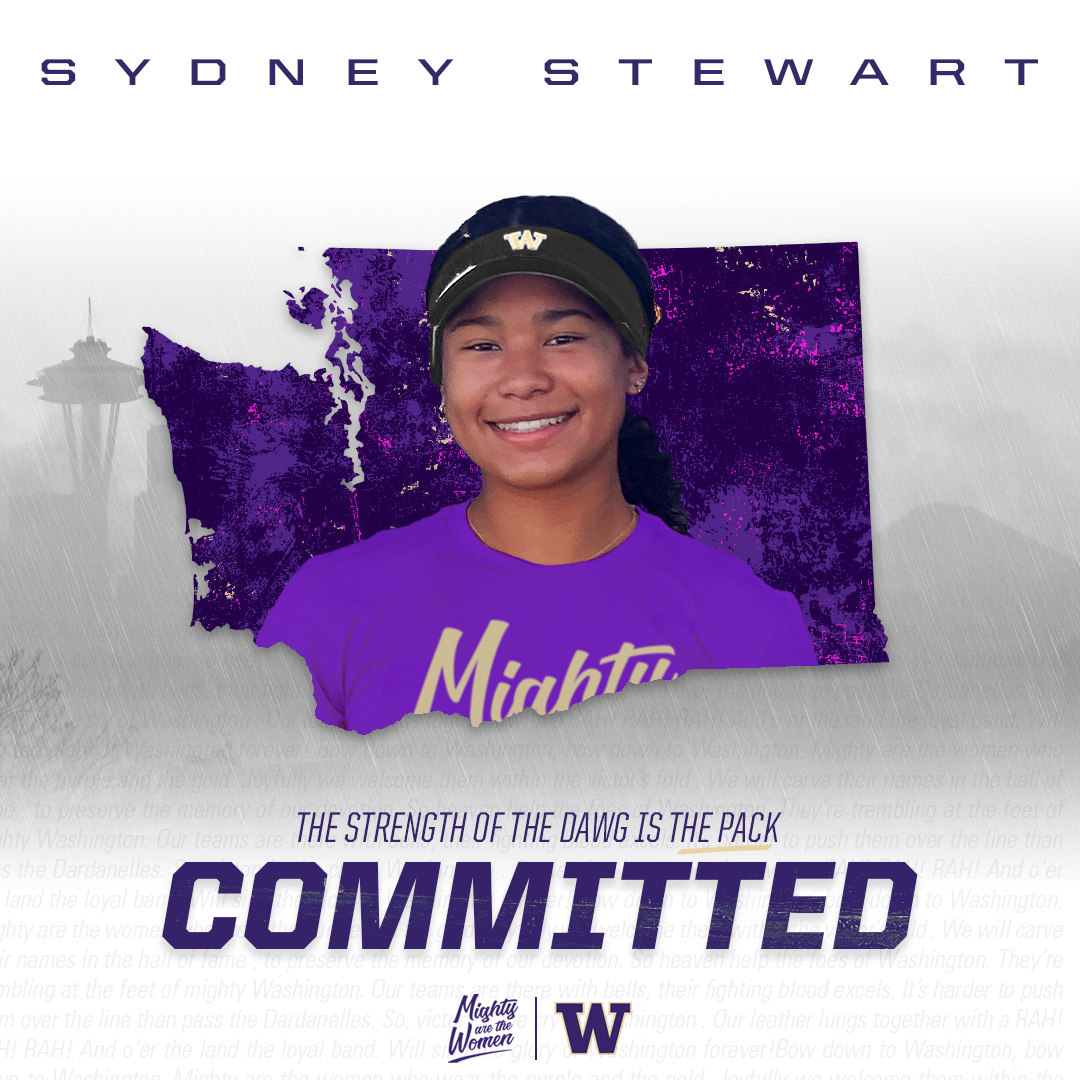 Syd Stewart Commits to Washington