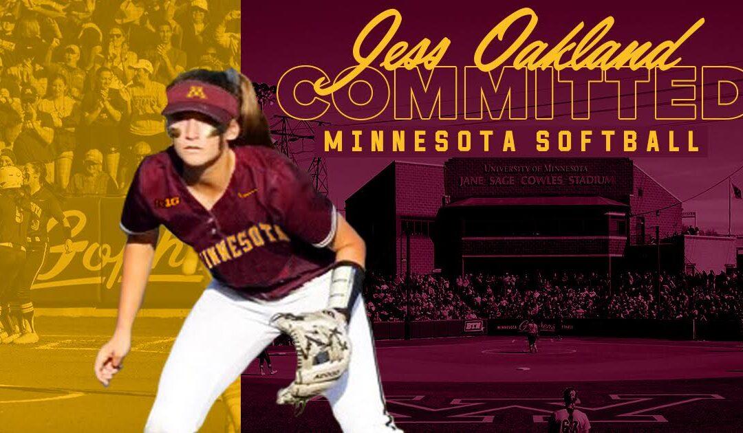 Jess Oakland Commits to Minnesota