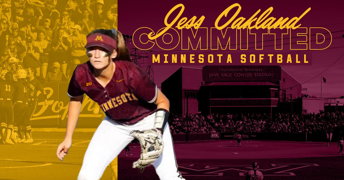 Jess Oakland Commits to Minnesota