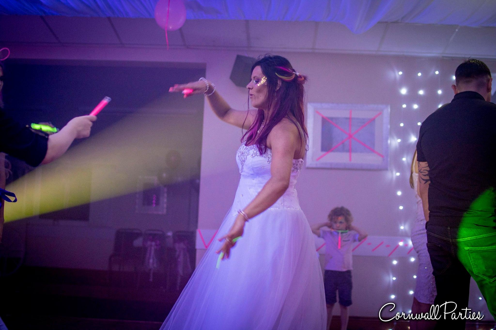cornwall wedding disco dj photographer 29