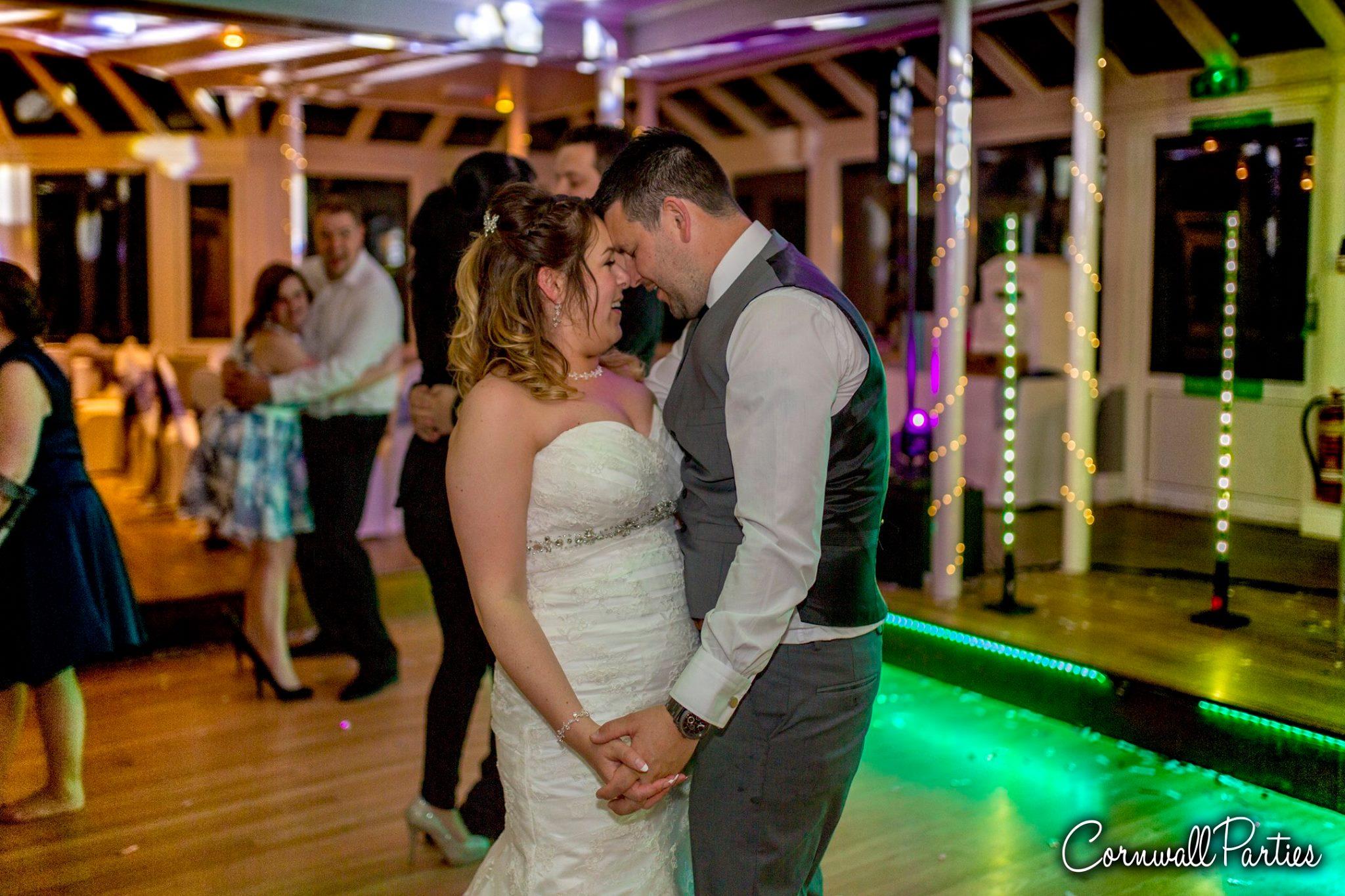 cornwall wedding disco dj photographer 23