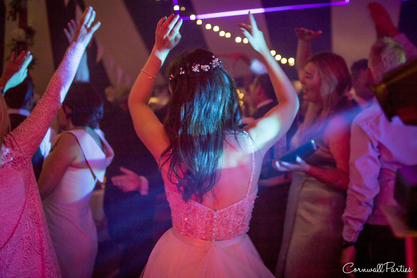 cornwall wedding disco dj photographer 39