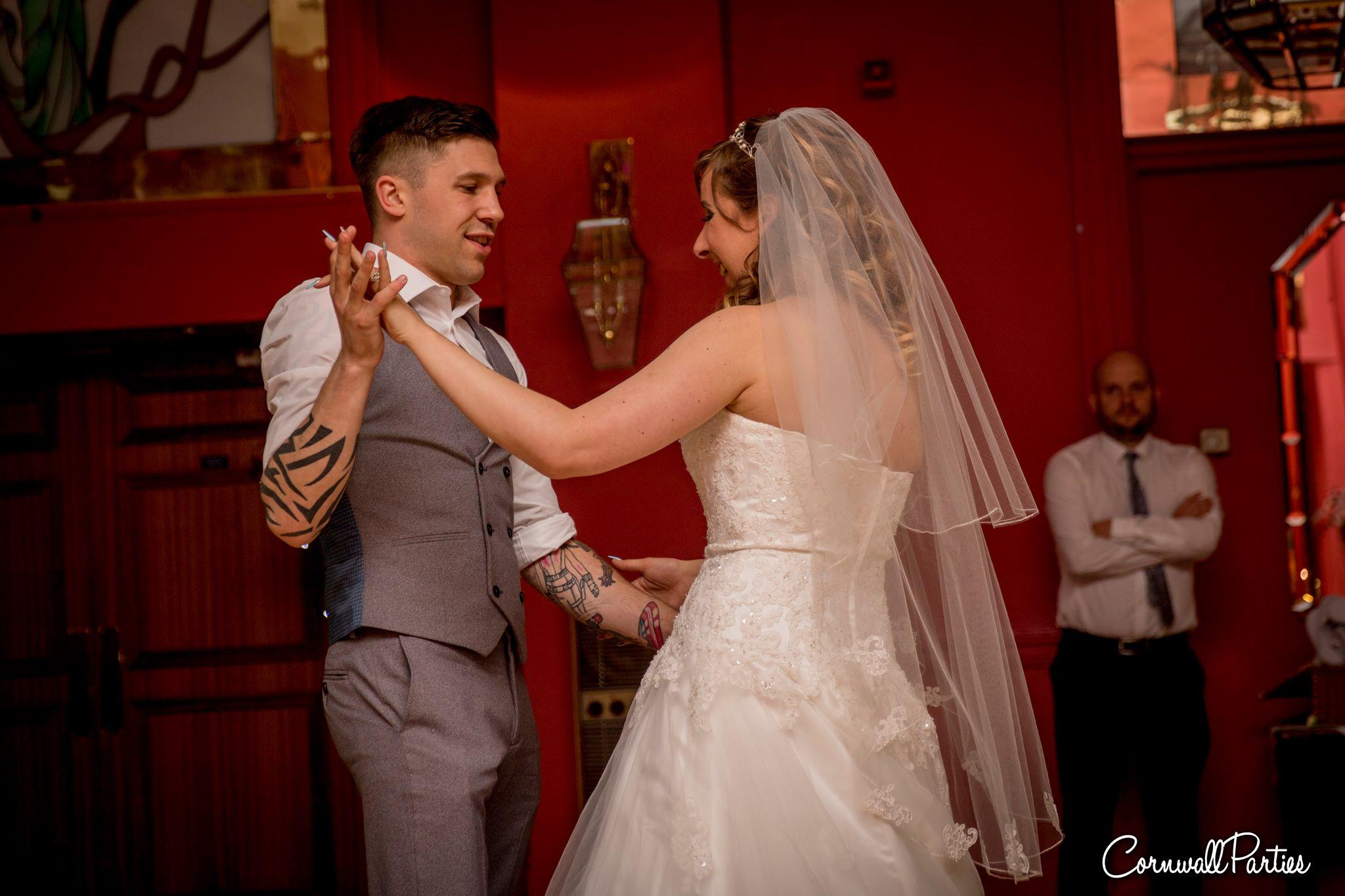 cornwall wedding disco dj photographer 25