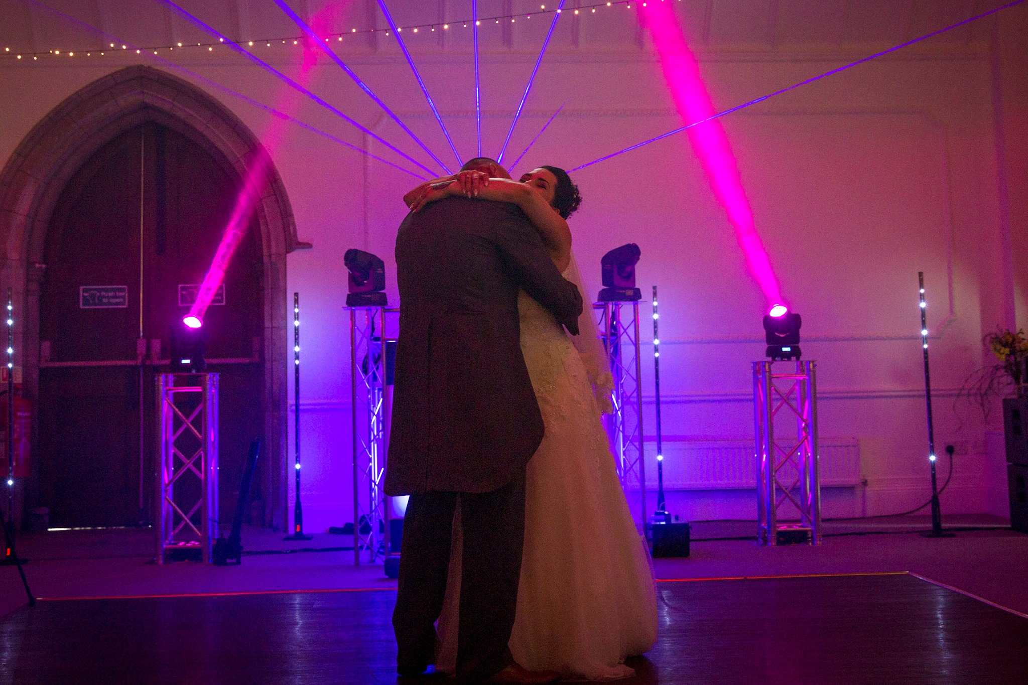 cornwall wedding disco dj photographer 34