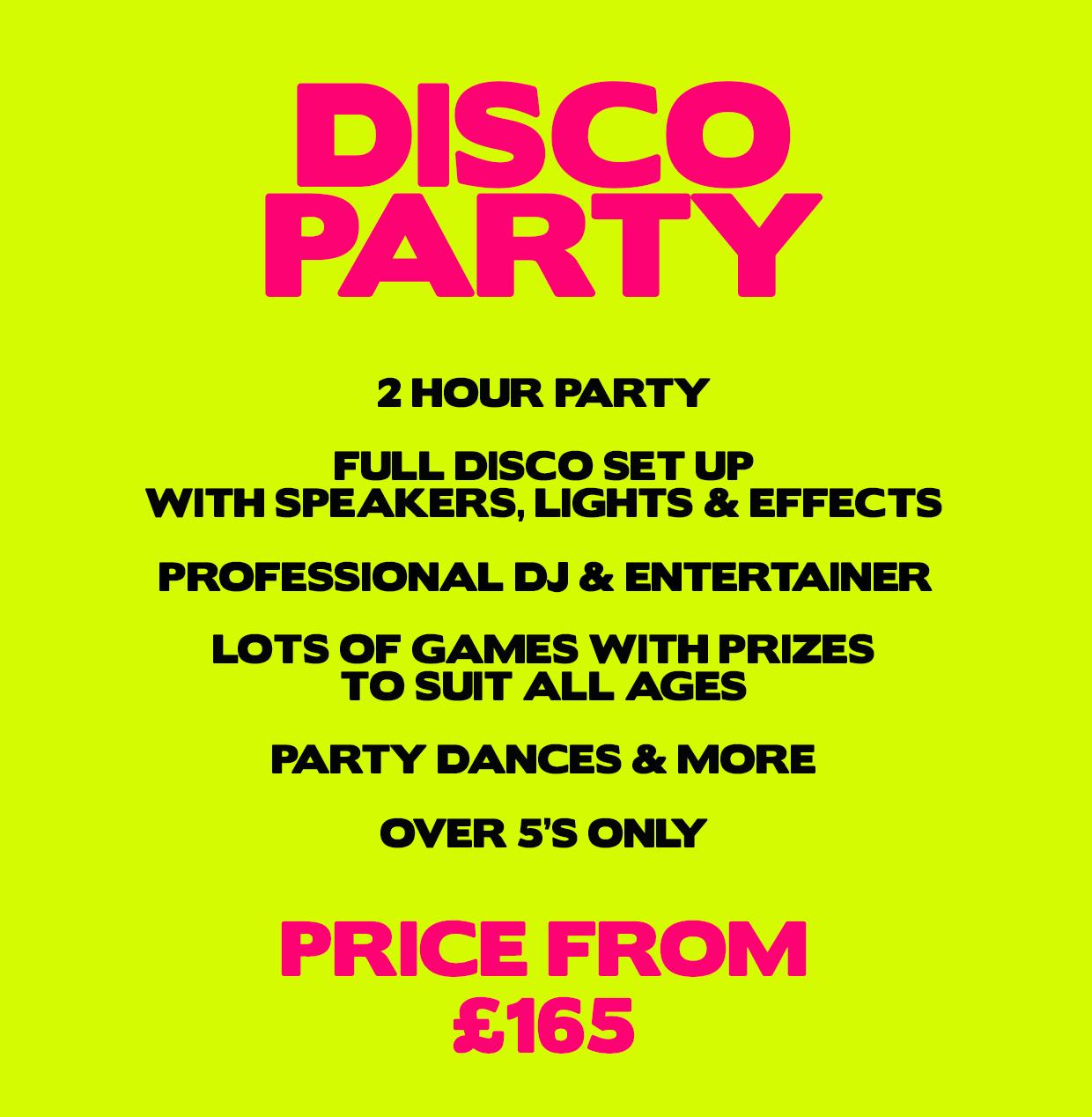 DISCO PARTY WEB 1