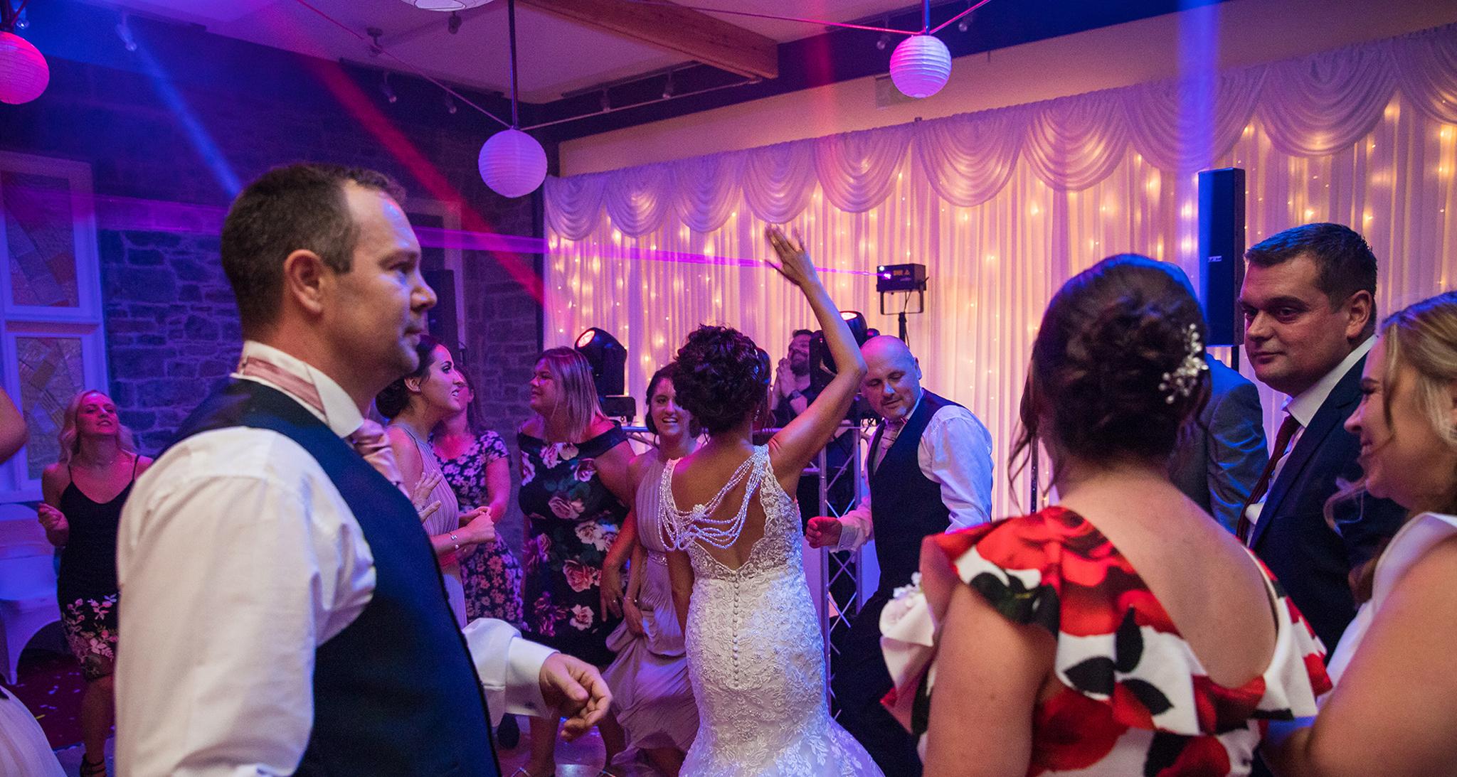 cornwall wedding disco 7