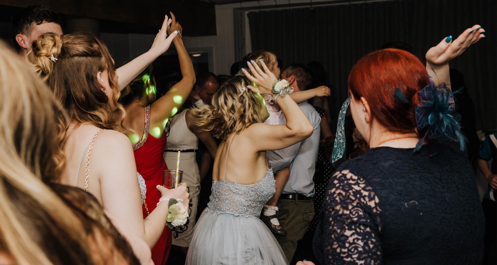 cornwall wedding disco 3