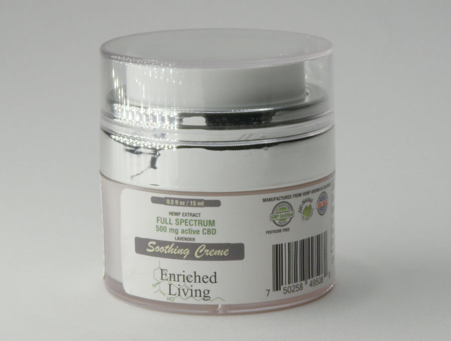 Enriched Living Soothing Creme 500 mg