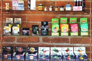 The Hemp & CBD Co Edibles, Koi, Chill, Hemp Bar, chocolates, caramels, honey, cookies