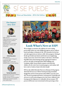 2016 fall newsletter