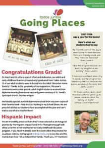 2018 summer newsletter