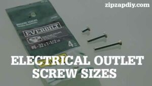 Electrical Outlet Screw Sizes