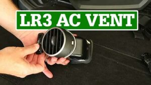 LR3 Air Outlet, AC Vent Repair