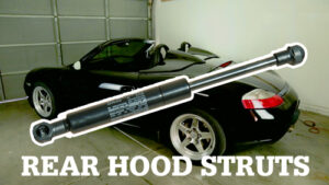 Replace Boxster Rear Trunk Lift Supports