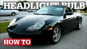 Boxster & 996 Headlight Bulb Replacement