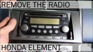 Honda Element Radio Removal with Tool List | How To Video