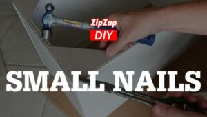 How To Hammer Small Nails! DIY Tip