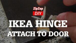 IKEA Integral Hinge | How to Install on Door