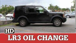 LR3 Oil Change