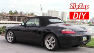Porsche Boxster & 996 Battery Location