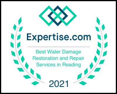 Best Water Damage Restoration Contractor Reading Award
