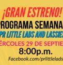 ¡Estrenamos el programa semanal Puerto Rico LITTLE LADS and LASSIES LIVE!
