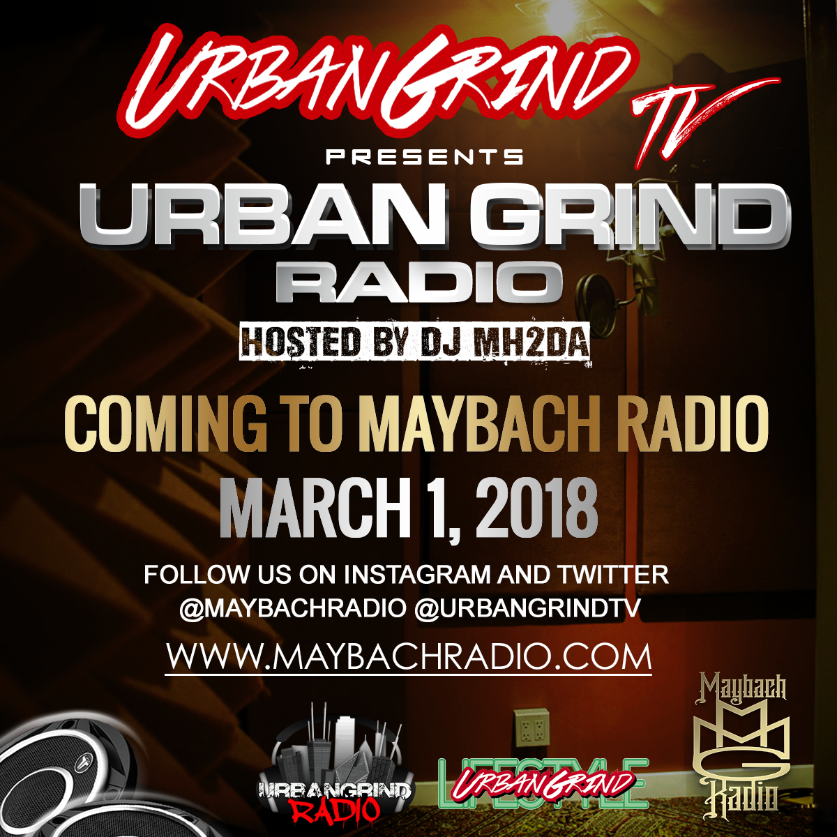Urban Grind Radio Maybach Radio March 1st copy
