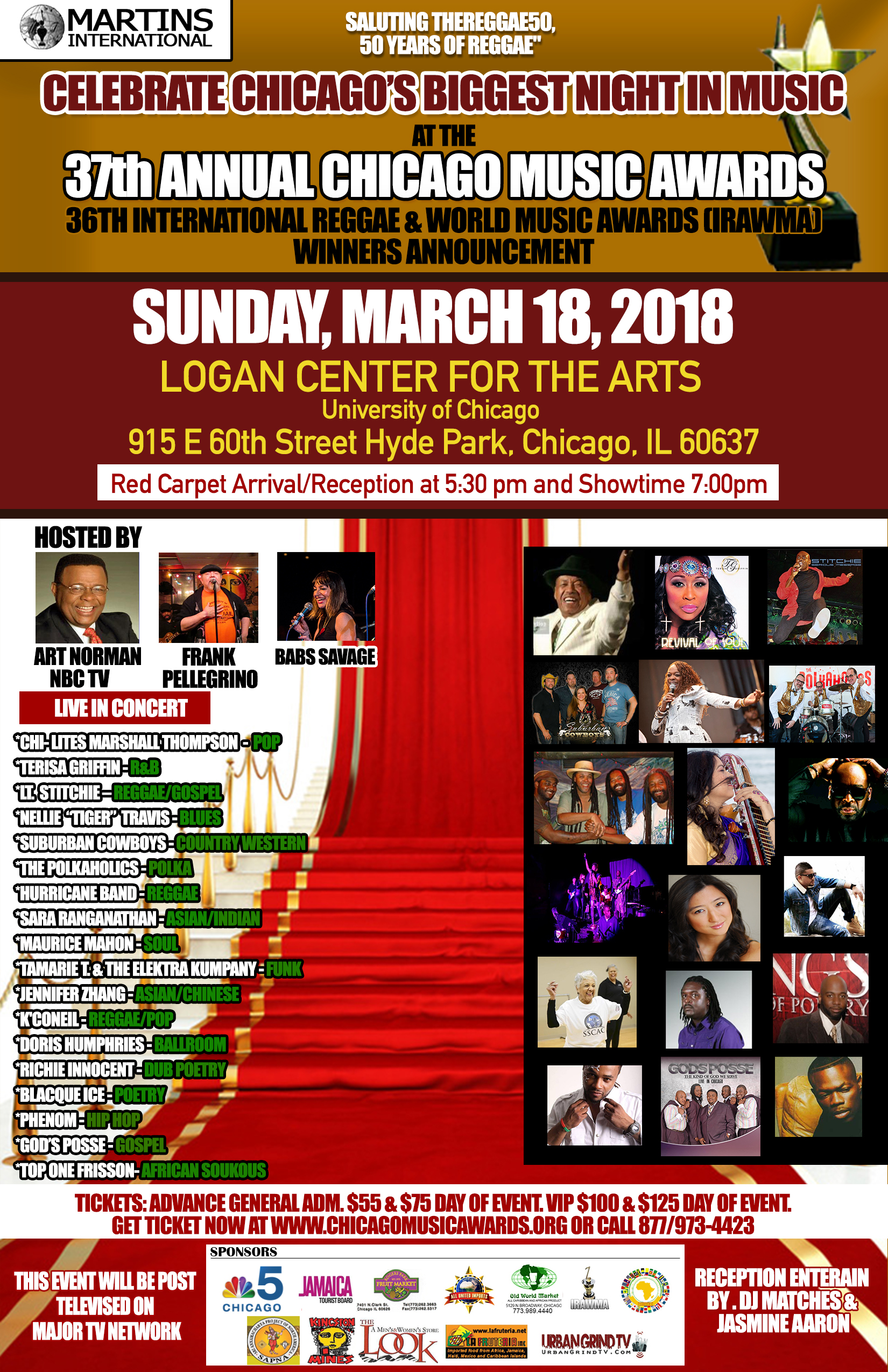 Official flyer with performers- sponsors- hosts and more – 37th CMA and 36 IRAWMA