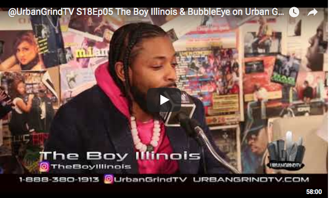 The Boy Illinois on Urban Grind TV
