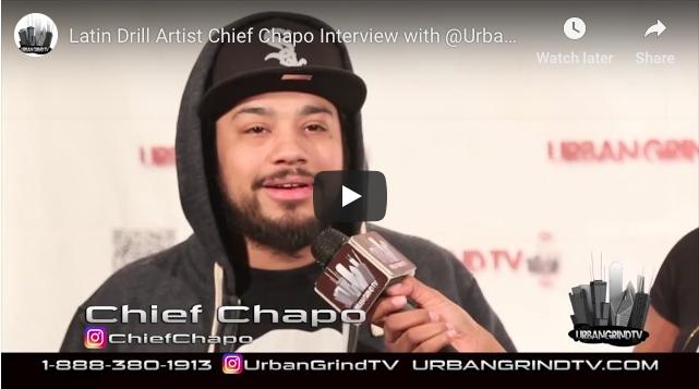 Chief Chapo Interview on Urban Grind TV