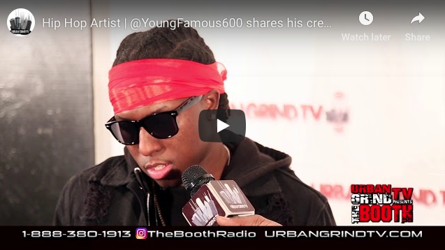 Young Famous 600 Interview with Urban Grind TV
