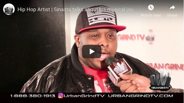 Hip Hop Artist Sinista Interview with Urban Grind TV