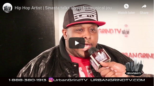 Hip Hop Artist Sinista Interview with Urban Grind TV