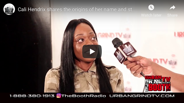 Cali Hendrix Interview on Urban Grind TV