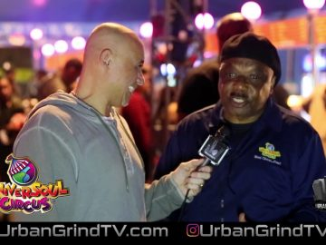 UniverSoul Circus Interview with Onionhead in Washington Park Chicago