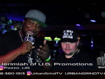 Urban Grind TV Interview with Jerimiah of UG Productions @Pazzo_UG