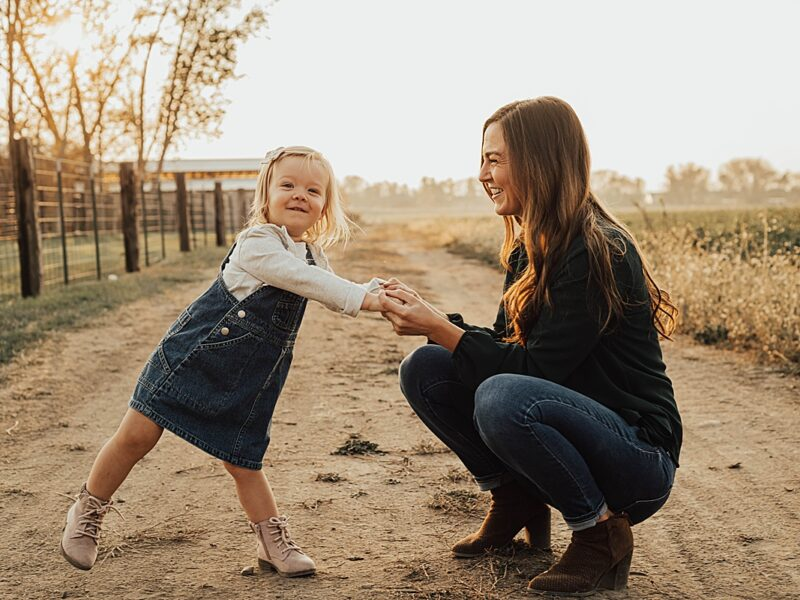 Ally & Liv || Farmington, Utah Family Photos