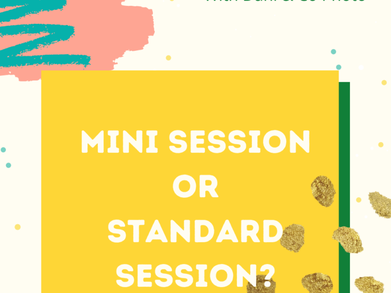 Question & Answer || How to Choose Between a Mini or Standard Session