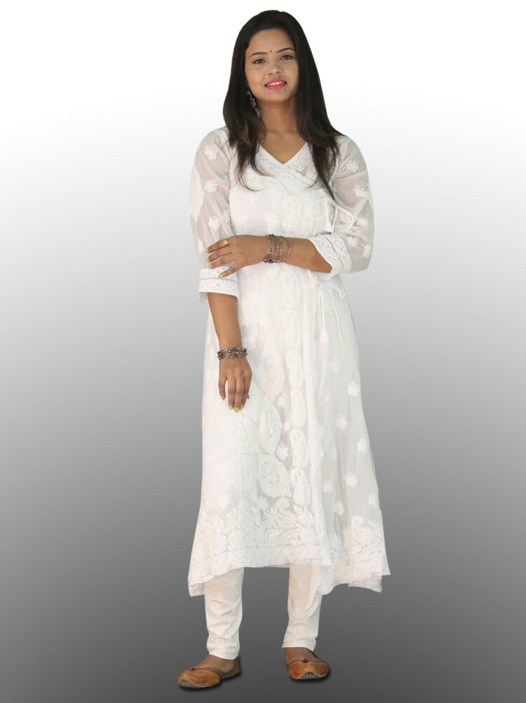 White Chikan Kurti - Buy Chikan Kurtis at best price of Rs 800 /piece from thechikanlabel Chikan Handicraft. Also find here related product comparison