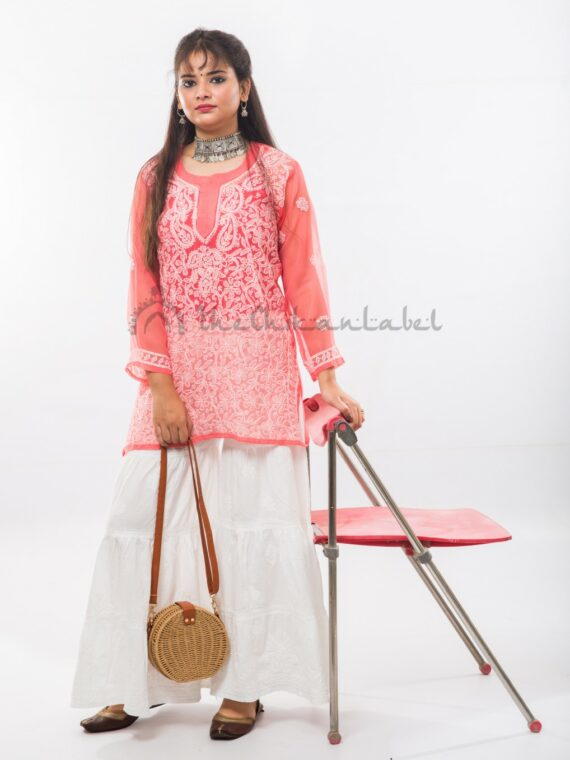 Buy Georgette Short Top Kurti Online (2)_compressed