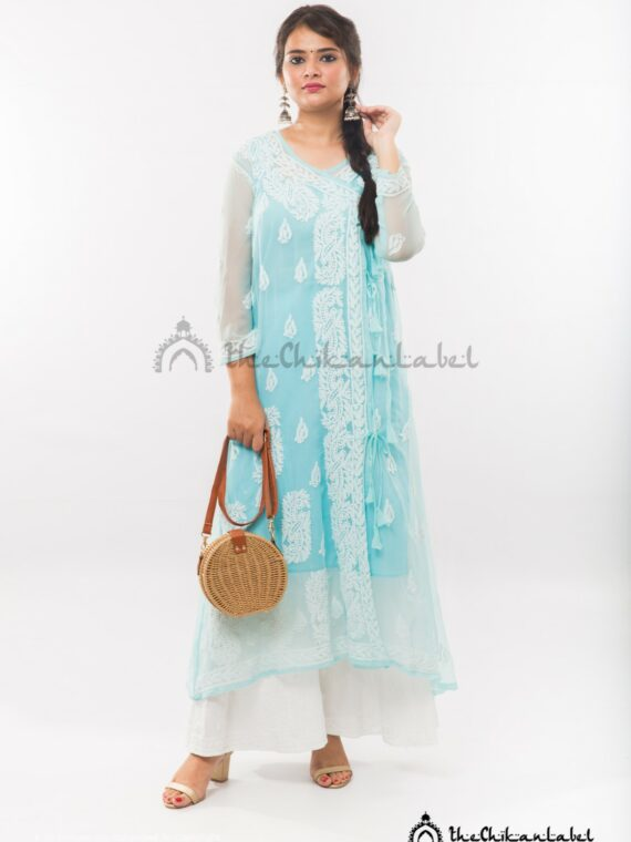 Buy Georgette Sky Blue Angarkha Kurta Online (8)_compressed