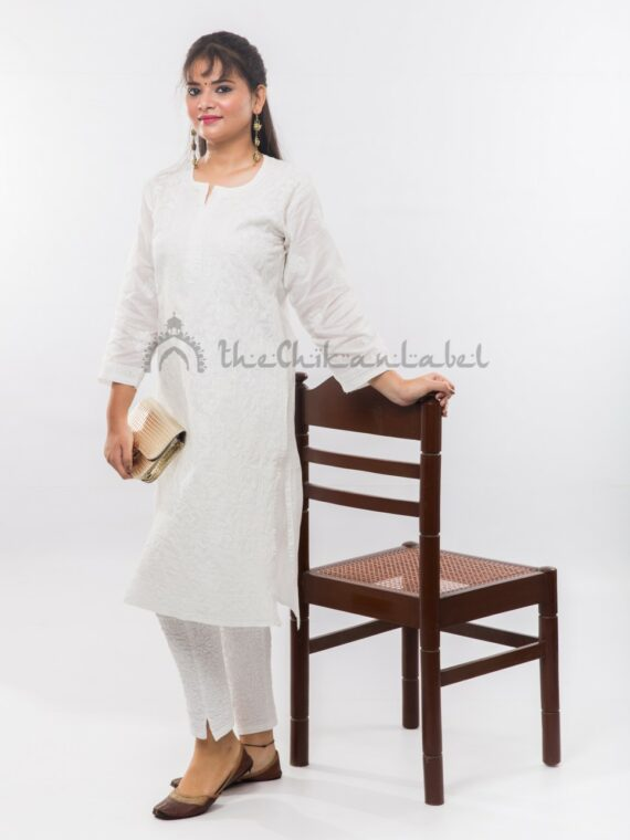 Buy White Cotton Jaal Kurti Online (4)_compressed