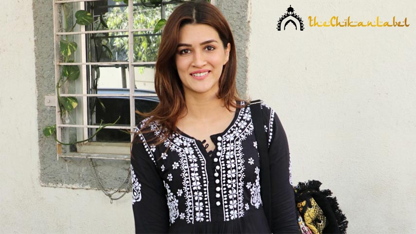 Kriti Sanon Chikankari Kurta Palazzo Set Is A Perfect Breezy Summer Look.