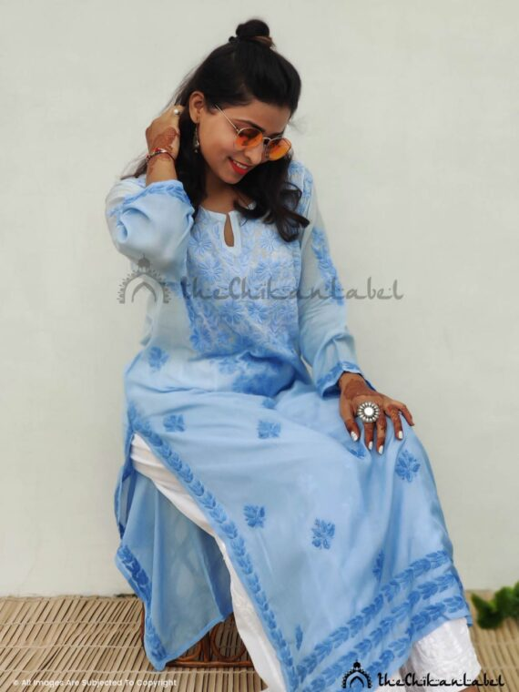powder blue chikankari kuri buy online_compressed