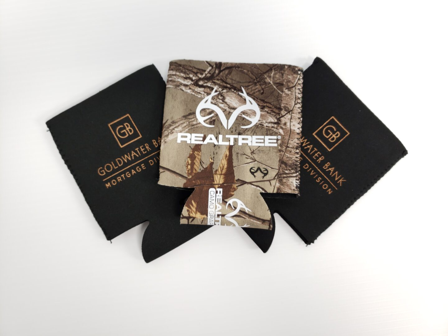 RealTree and Goldwater Bank Koozie