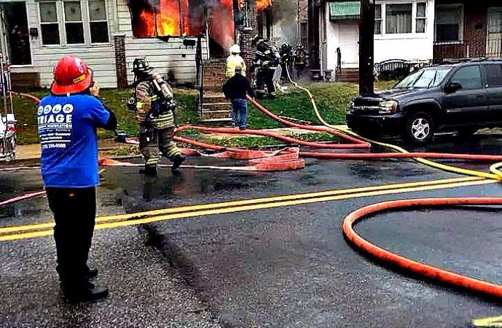 House Damage Fire