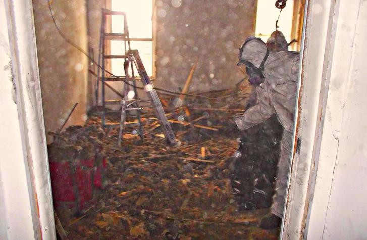 Fixing a Fire Damaged Home
