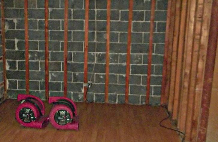 Indoor Water Damage Restoration