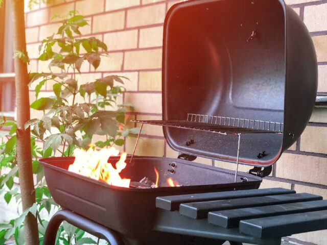 Caution when grilling is critical to stay safe and avoid fires and accidents.